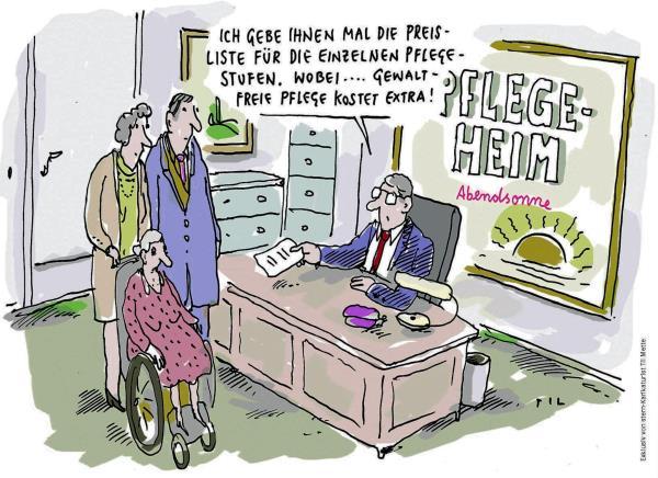 Cartoon von Til Mette (mit freundlicher Genehmigung)