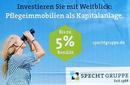 Plakatwerbung der Specht-Gruppe