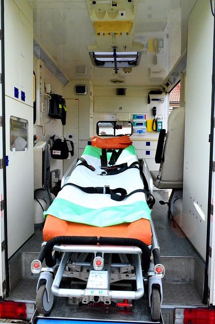 Krankenwagen von innen