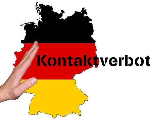 Kontaktverbot in Deutschland
