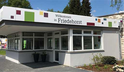 Einganng Stiftung Friedehorst Bremen