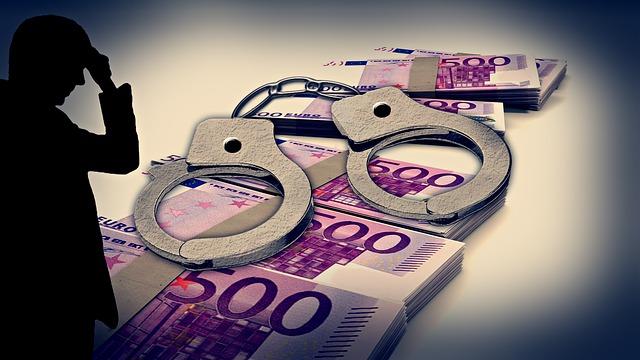 Handschellen und viel Geld