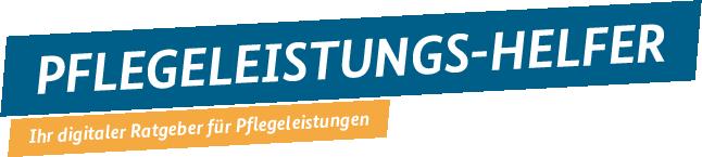 """Logo """"Pflegeleistungs-Helfer"""" des Bundesgesundheitsministeriums"""